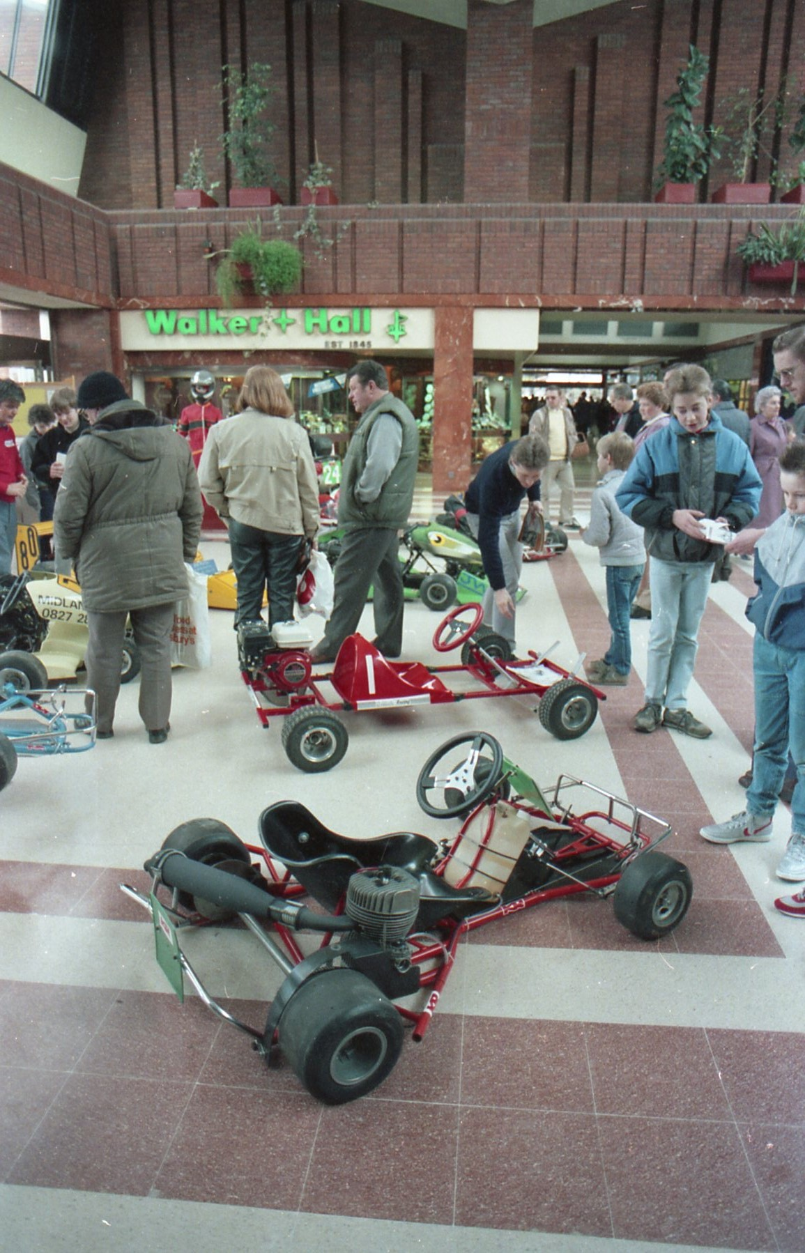 Chasewater KRC exhibition in Ankerside Shopping Centre Tamworth circa1985